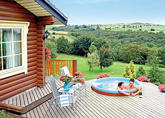 West Yorkshire holiday lodges at Faweather Grange Lodges Ilkley - Serenity 2 Lodge with outdoor hot tub