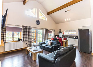 Interior of Teal Lodge ( Ref LP9417 ) at Hornsea Lakeside Holiday Lodges East Yorkshire