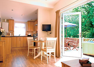Interior view of Coombe Lodge ( Ref LP3502 ) at Leycroft Valley - Self catering Accommodation near Perranporth Cornwall England
