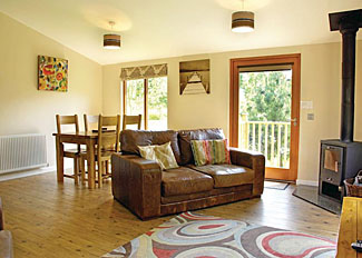 Interior of Radnor Lodge ( Ref LP6812 ) Cartmel Holiday Lodge in Lake District