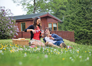 Holiday Lodges near Halwill in Devon England - Ruby Country Lodges - Self Catering Lodge Accommodation