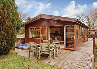 Ruby Country Lodges in Halwill - Photo of typical Metherell Lodge ( Ref LP6560 ) Holiday Lodge in Devon England