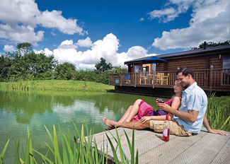 Holiday Lodges in Waveney Valley on Norfolk / Suffolk border - Weybread Lakes Holiday Lodges in England