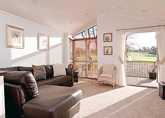 Lounge area at Bay Tree Lodge ( Ref LP8241 ) Herons Brook Retreat Holiday Lodges near Narbeth South Wales
