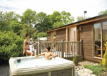 Meadow's End Lodges near Cartmel Cumbria - Lake District Holiday Lodges