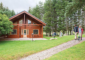Dalwhinnie Premier Lodge ( Ref LP6316 ) at Wildside Highland Lodges Whitebridge near Loch Ness Scotland UK