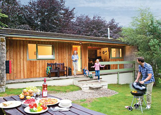 Highland Park Lodge ( Ref LP6312 ) at Wildside Highland Holiday Lodges Whitebridge near Loch Ness Scotland