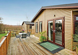 Cedar Lodge 6 at Ashby Woulds Lodges ( Ref LP7554 ) Holiday Lodges near Ashby de la Zouch Derbyshire