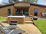 Lon Lodges Rhayader Llandrindod Wells Powys Wales - Self Catering Accommodation in Mid Wales