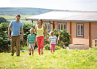 Holiday Lodges near Falmouth Cornwall - Caddys Corner Lodges Carnmenellis