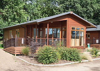 Retreat Spa 3 Lodge at Waveney River Centre Beccles Norfolk - Self Catering Lodge Accommodation at Burgh St Peter England
