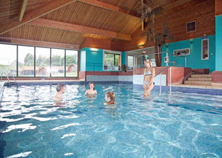 Indoor swimming pool at Waveney River Centre near Beccles Norfolk England