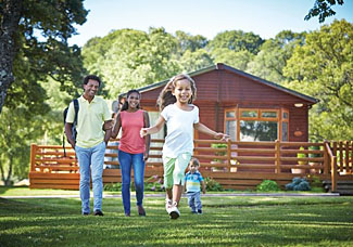 Holiday Lodges in North Wales - Pen y Garth Accommodation near Bala in Gwynedd Wales