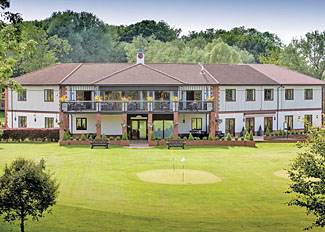 Photo of the golf club at The Manor Resort - Laceby Holiday Park in Lincolnshire England