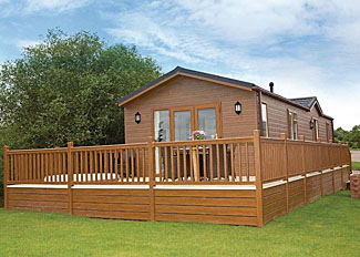 Setting of Oxmoor Lodge ( Ref LP8037 ) Holiday Lodges at Wigmore Lakes Shropshire England