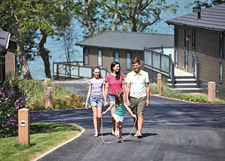 Woodside Coastal Retreat holiday park surroundings - Cowes Isle of Wight England