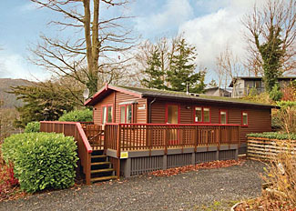 Bassenthwaite Lakeside Lodges - Typical Woodland Lodge Plus ( Ref LP14407 ) Cumbria self catering accommodation