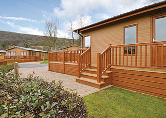 Photo of Glastonbury Lodge ( Ref LP7240 ) at Cheddar holiday lodges in Somerset