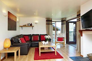 Photo of interior of Badgers Oak Lodge - Calbourne holiday lodges in Isle of Wight England