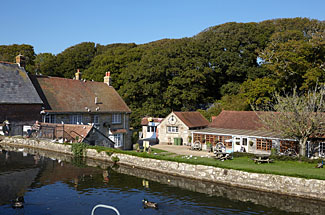 Photo of The Calbourne Water Mill in Isle of Wight England