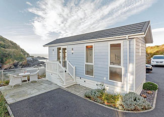 Cairnwood Sea View - Studio at Beach Cove Coastal Retreat ( Ref LP9169 ) Self Catering Accommodation in Hele Bay Devon