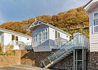 Driftwood Premier Sea View ( Ref LP9168 ) at Beach Cove Coastal Retreat Hele Bay Accommodation in Devon