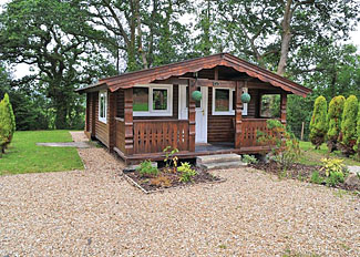 Typical Kestrel Lodge ( Ref LP3623 ) at Heronstone - Ystradgynlais holiday lodges in Powys Wales