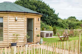 Olive at Buttercup Barn Retreats Isle of Wight Holiday Lodges