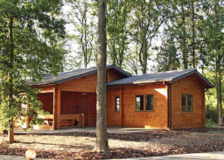 Woodland Willow Lodge ( Ref LP7657 ) at Woodland Park Holiday Lodges in Ellesmere Shropshire England