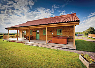 Kingfisher Lodge at Oak Farm Lodges Palgrave near Diss Norfolk England