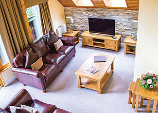 Interior of The Derwent Lodge ( Ref LP13890 ) Slaley Hall Lodges - Self catering accommodation near Hexham Northumberland England
