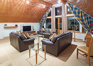 Interior of The Hexham Lodge ( Ref LP13892 ) Holiday Lodges at Slaley Hall near Hexham Northumberland