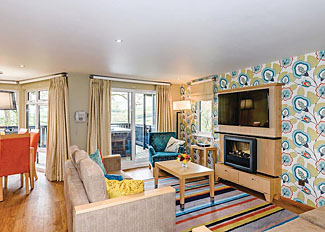 Living area in Heritage Lodge( Ref LP11937 ) at Brockwood Hall Lodge - Self Catering Accommodation Millom Cumbria - Lake District Holiday Lodge