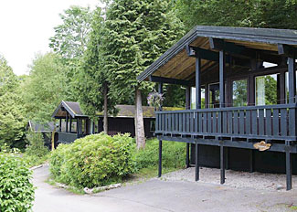 Typical Windermere Lodge ( Ref LP5420 ) at Brockwood Hall Holiday Lodges - Self Catering Accommodation near Millom Cumbria