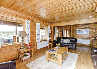 Interior view of Tryfan Lodge at Anglesey Lakeside Lodges ( Ref LP4444 ) - Self catering in North Wales