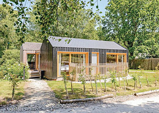 Holiday Lodges near Wareham Hampshire - Burnbake Forest Park - Forest Lodge 2 setting