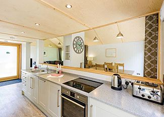 Kitchen area area at Forest Lodge 2 ( Ref LP8960 ) Wareham holiday home in Dorset