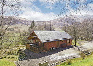 Hideaway Lodge ( Ref LP4597 ) at Glen Clova Holiday Lodges near Kirriemuir Angus Scotland