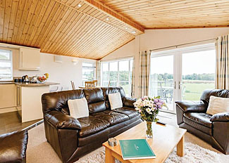Living area in Cromarty Lodge ( Ref LP5889 ) Kessock Highland Holiday Lodge Northern Scotland