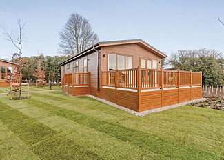 Cranbrook Lodge setting ( Ref LP14307 ) Holiday lodge at Canterbury Reach Lodge Retreat in Kent