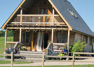Typical Lily Lodge ( Ref LP5538 ) Oasis Lodges Ledbury - Holiday lodge accommodation in Herefordshire England