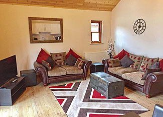 Interior of Bodsey Lodge ( Ref LP14259 ) Holiday Lodge in Ramsey Cambridgeshire UK