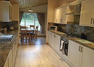 Kitchen/dining area in Maple Lodge ( Ref LP15067 ) Holiday Lodge Accommodation at Croft Park near Hull England
