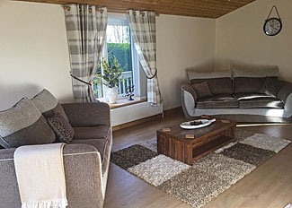 Lounge area in Maple Lodge ( Ref LP15067 ) at Croft Park near Cottingham - Holiday Park near Hull Yorkshire