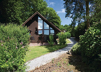 Exmoor Gate Lodge setting ( Ref LP3069 ) Self catering at Exmoor Gate Holiday Lodges near Wiveliscombe Somerset UK