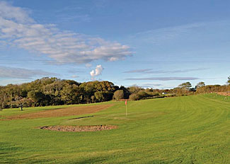 Golf Course - Florence Springs Lakeside Lodges - Pembrokeshire holiday park near Tenby South Wales