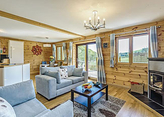 Interior of Inari Lodge ( Ref LP4350 ) - Self Catering Lodge Accommodation at Black Hall Lodges Knighton Shropshire England
