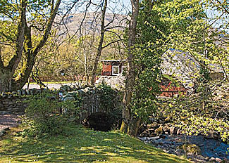 Glen Clova Lodges - Setting of Old Mill Lodge ( Ref LP12944 ) Scotland Holiday Lodge in Kirriemuir Angus