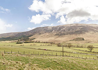Surrounding area at Glen Clova Lodges - Self Catering Accommodation in Kirriemuir Angus Scotland