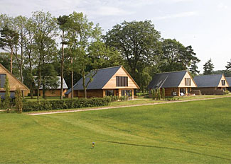 Holiday Lodge setting at Kilnwick Percy Resort ( KP Lodges ) Pocklington East Yorkshire England